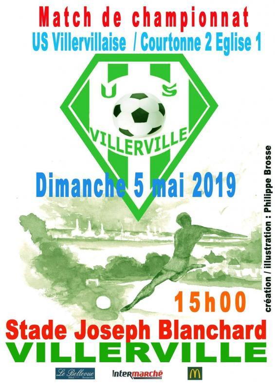 Championnat foot 5 mai 2019