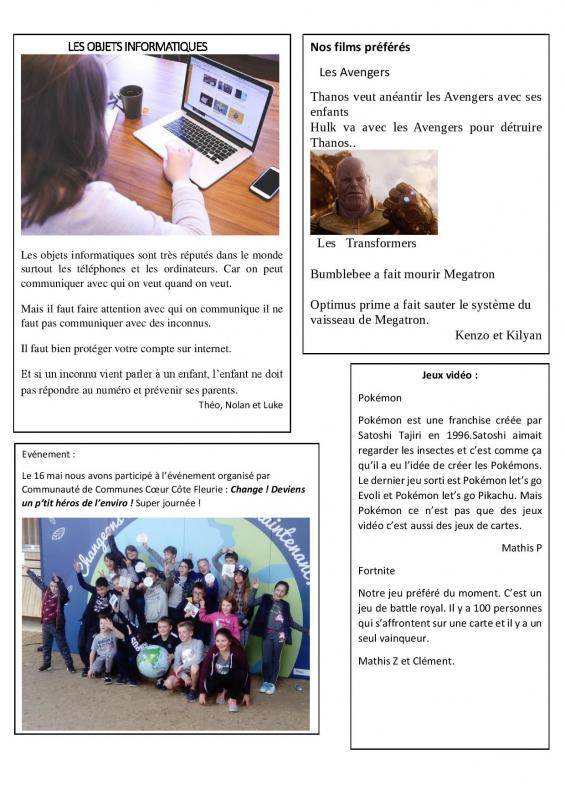 Journal le gaspillage alimentaire page 004