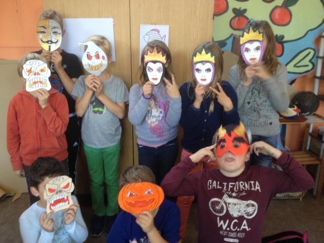 Masques pour halloween