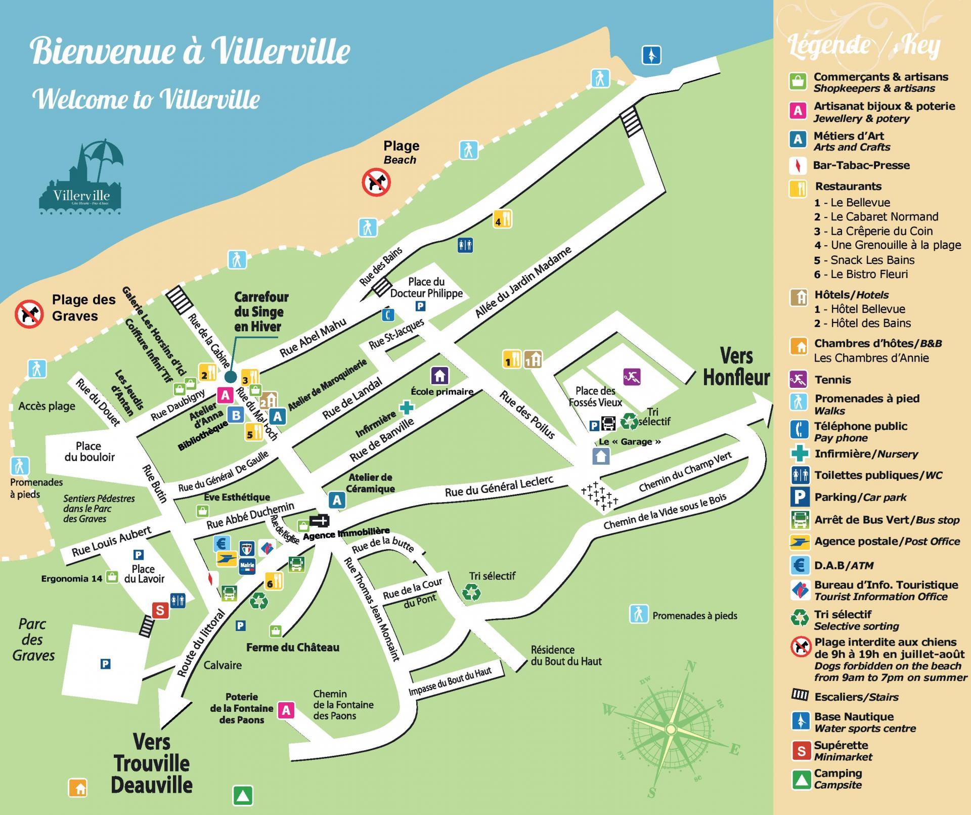Plan Villerville 2017