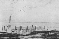 Drawing of Valère Lefebvre