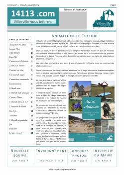 Bulletin n°1