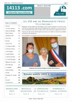 Page1 du bulletin 3 janvier mars