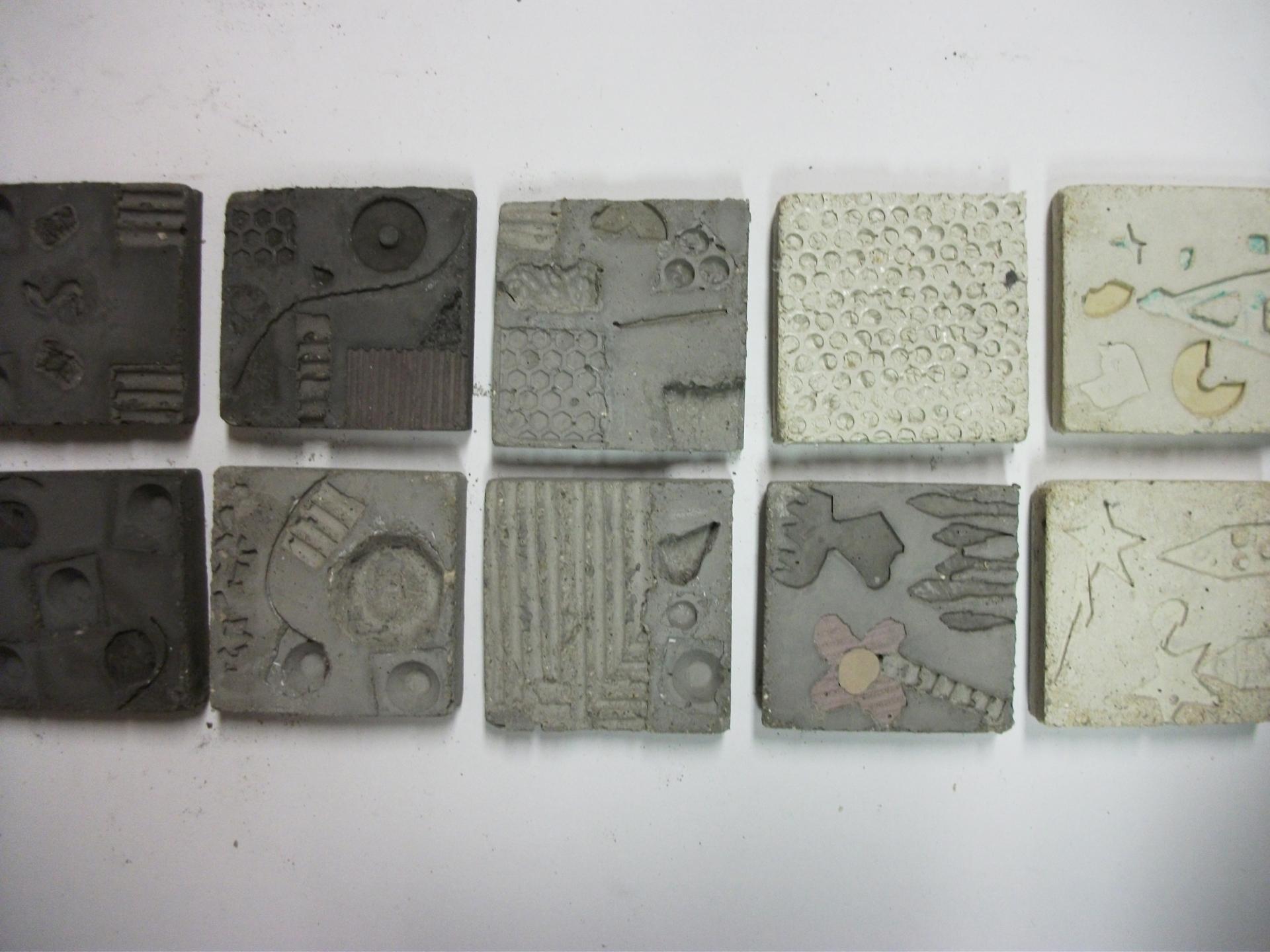 Photos ateliers beton